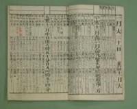 日本の古い暦