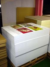 カレンダー本体の主流はオフセット印刷